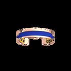 Pure Bracelet, Rose gold finish, Cheetah / Royal Blue image number 2