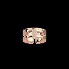 Bague Barrette 8 mm, Finition dorée rose image number 1