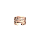 Bague Fontaine, Finition dorée rose, Rose clair / Turquoise image number 1