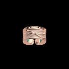 Louxor Ring, Rose gold finish, Light Pink / Turquoise image number 1