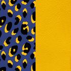 Patterned leather, Leopard / Sun image number 1