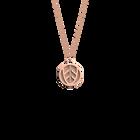 Collier Faucon, Finition dorée rose, Nude / Aquatic image number 1