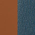 Leather insert, Soft Camel / Duck Blue image number 1