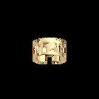 Mehen ring 12 mm, Gold finish image number 1