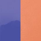 Cuir, Violet Vernis / Saumon image number 1