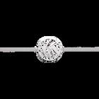 Perroquet bracelet 25 mm, Silver finish image number 1