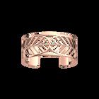 Faucon Bracelet 25 mm, Rose gold finish image number 1