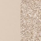 Leather insert for Les Essentielles Belt, Cream / Gold Glitter image number 1