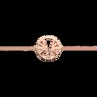 Bracelet chaîne Ibiza 25 mm, Finition dorée rose image number 1