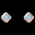 Puces Pixel, Finition dorée rose image number 1
