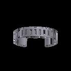 Rythme Bracelet 14 mm, Ruthenium finish image number 1