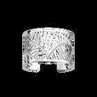 Zebrures Bracelet 40 mm, Silver finish image number 1