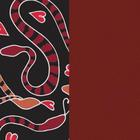 leather insert - Bracelets & Bags, Heart Snake / Carmine image number 1