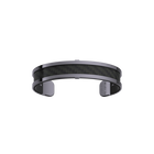 Bracelet Double, Finition ruthénium, Noir / Carbone image number 1