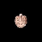 Monstera Pendant, Rose Gold finish image number 1