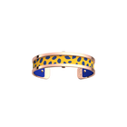 Pure Bracelet, Rose gold finish, Cheetah / Royal Blue image number 1