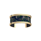 Pure Bracelet, Gold finish, Snake / Navy Blue image number 1