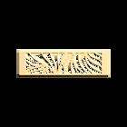 Bijou de sac Perroquet 40 mm, Finition dorée image number 1