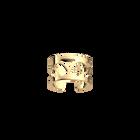 Bague Rosée 12 mm, Finition dorée image number 1