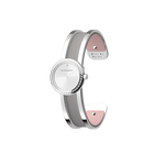 Structure Watch, Silver finish, Light Pink / Light Grey image number 2