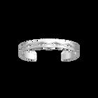 Bracelet Treillis 8 mm, Finition argentée satinée image number 1