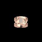 Barrette ring 12 mm, Rose gold finish image number 1