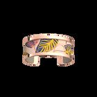 Pure Bracelet, Rose gold finish, Leaves / Cream image number 1