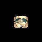 Bague Coquelicot, Finition dorée, Bleu Minéral / Argile Rose image number 1
