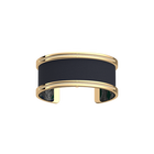 Pure Bracelet, Gold finish, Snake / Navy Blue image number 2
