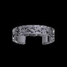 Bracelet Tressage 14 mm, Finition ruthénium image number 1