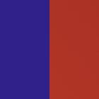 Cuir - Manchettes et Sacs, Bleu République / Rouge image number 1