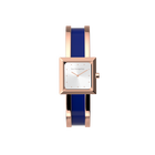 Structure Watch, Rose Gold finish, Giraffe / Patent Blue image number 4