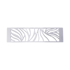 Decorative plaque Perroquet 40 mm, Silver finish image number 1