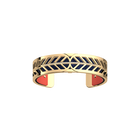 Faucon Bracelet, Gold finish, Coral / Metallic Navy Blue image number 2
