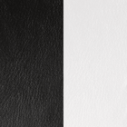 Leather insert, Black / White image number 1
