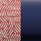 Leather insert - Bracelets & Bags, Vibrations / Metallic Navy image number 1