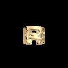 Girafe ring 12 mm, Gold finish image number 1