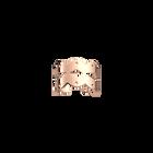 Bague Apache 8 mm, Finition dorée rose image number 1