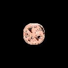 Nénuphar token Round 16 mm, Rose gold finish image number 1