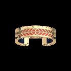 Faucon Bracelet, Gold finish, Coral / Metallic Navy Blue image number 1