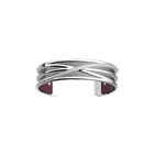 Louxor Bracelet, Silver finish, Cherry / Metal image number 2