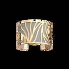 Perroquet Bracelet, gold Finish, Light Pink / Light Grey image number 2