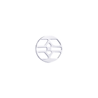 Inca token Round 16 mm, Silver finish image number 1