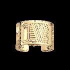 Love Bracelet 40 mm, Gold finish image number 1