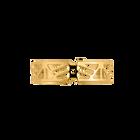 Promenade Bracelet 14 mm, Gold finish image number 1