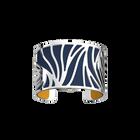 Perroquet Bracelet, Silver finish, Sun / Navy Blue image number 2