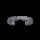 Verticale Bracelet 14 mm, Matte ruthenium finish image number 1