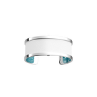 Pure Originel Bracelet, Silver finish, Groove / White image number 3