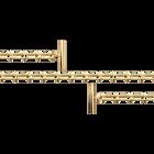 Cheval meshchain strap, Gold finish image number 1
