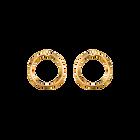 Eclipse Ear jacket, Gold finish image number 1